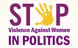 Stop violence against women in politics